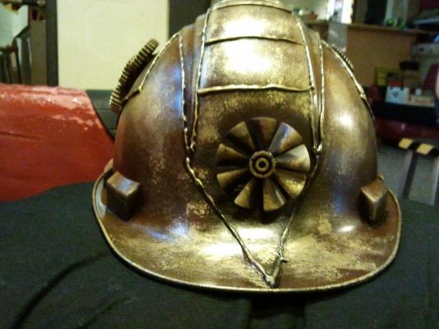 De helm is klaar!