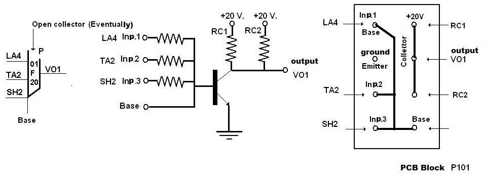 Nor on Circuit Diagram